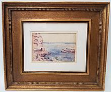 Childe HASSAM (1859-1935) WATERCOLOR PAINTING