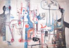 Rolando LOPEZ DIRUBE (1928-1997) OIL PAINTING