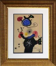 Joan MIRO gouache on paper