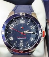 TOMMY HILFIGER MENS LARGE SIZE SPORT WATCH