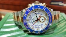 ROLEX TWO TONE NEW STYLE YACHTMASTER WATCH WITH BOX & PAPERS 2013