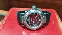 CARTIER PASHA SEATIMER MENS LARGE SIZE AUTOMATIC WATCH