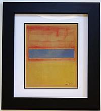 Mark ROTHKO (Attrib.)(1903-1970). Latvia - United States
