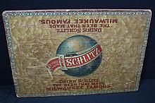 Rare Pre Pro Schlitz Beer Railroad Lap Board Sign