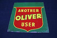 Another Oliver Tractor User Tin Farm Sign
