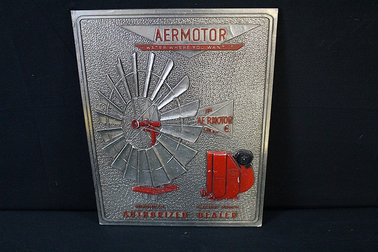Aeromotor Windmill Authorized Dealer Sign