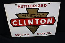 Authorized Service Station Clinton Engines Sign