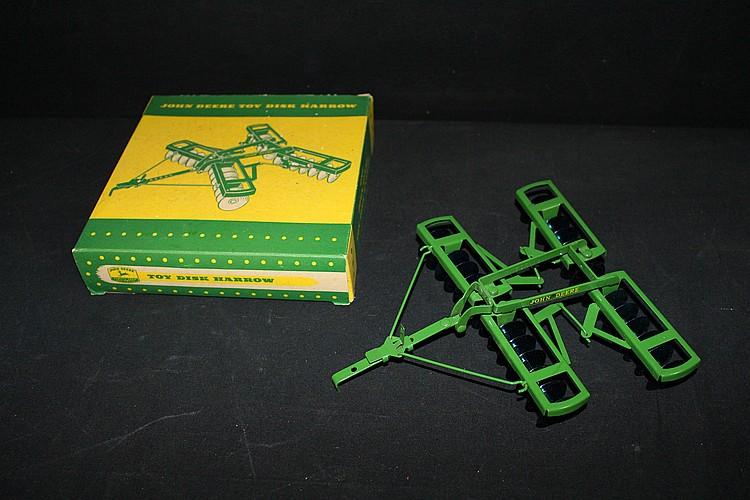 John Deere Toy Disc Harrow In Original Box