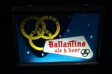 Ballantine Ale & Beer Lighted Motion Sign  Newark NJ