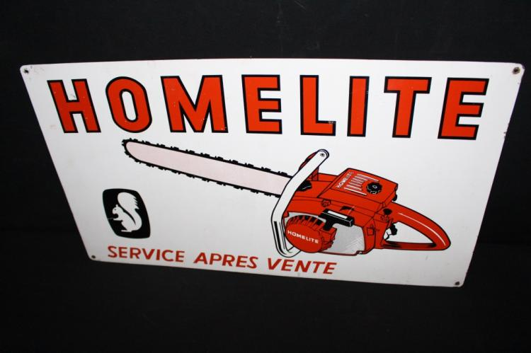 Homelite Chainsaws Chainsaw Sign