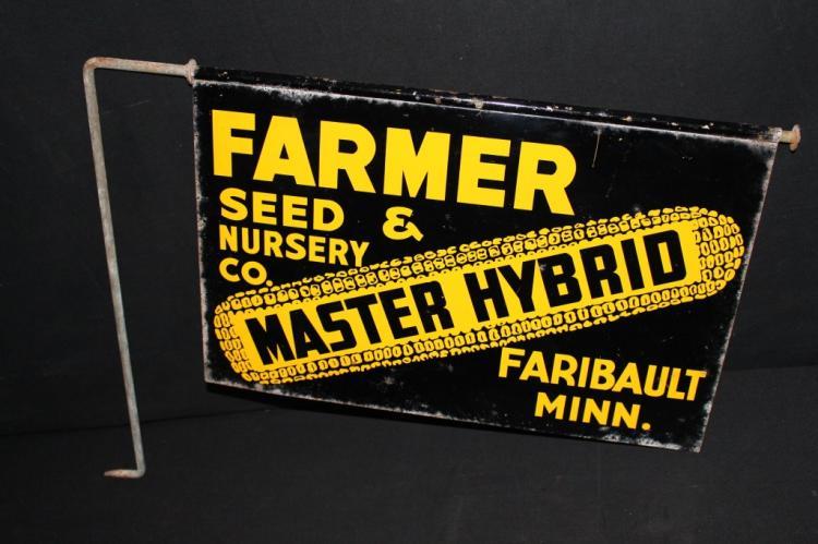 Master Hybrid Seed Corn Sign Faribault MN