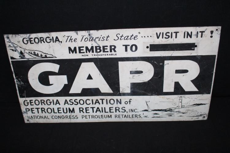 GAPR Georgia Assoc Petroleum Dealers Sign