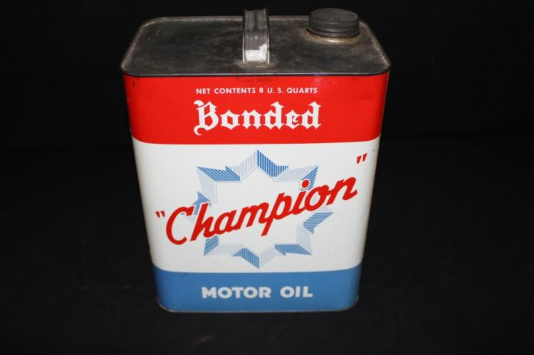Champion Bonded Motor Oil 2 Gallon Can