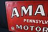 Amalie Pennsylvania Motor Oil Tin Sign