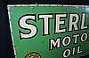 Sterling Pennsylvania Motor Oil Tin Sign