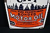 Quaker City Pennsylvania Motor Oil Tin Sign