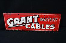 Grant Battery Cable Rack Tin Sign