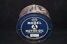 Rare Ford Motor Co Model A Rocker Drum Oil Can