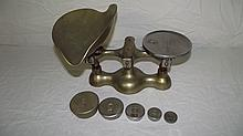 JACOBS BALANCE SCALE WITH WEIGHTS