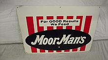 MOORMANS FEEDS SIGN