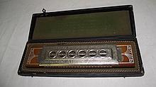 ANTIQUE KOCH ALPINA HARMONICA IN CASE
