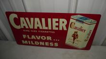 CAVALIER CIGARETTES TIN SIGN
