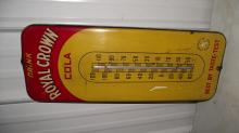 ROYAL CROWN COLA THERMOMETER SIGN