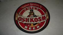 CHIEF OSHKOSH BEER TRAY