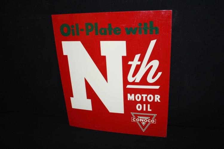 Conoco Nth Motor Oil Sign