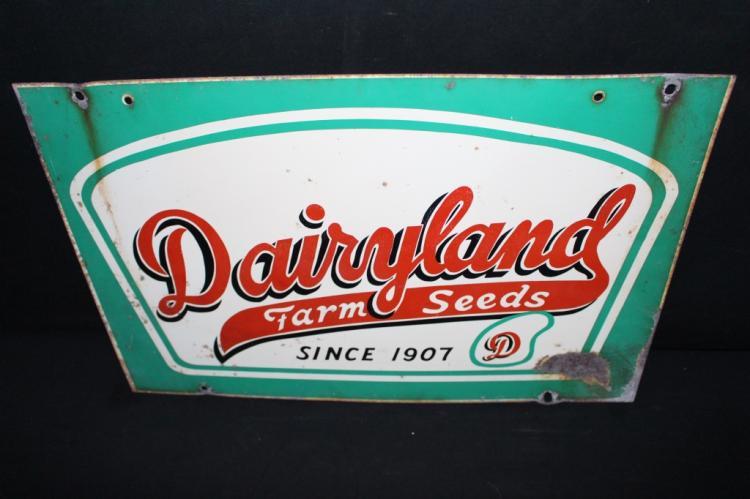 Dairyland Farm Seeds Sign