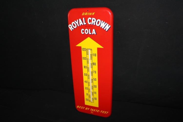 NOS Royal Crown Cola Soda Pop Thermometer