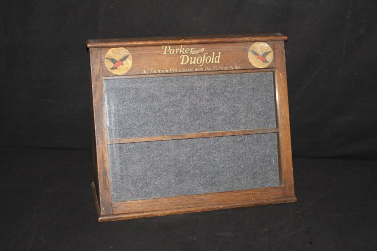 Parker Duofold Fountain Pen Cabinet