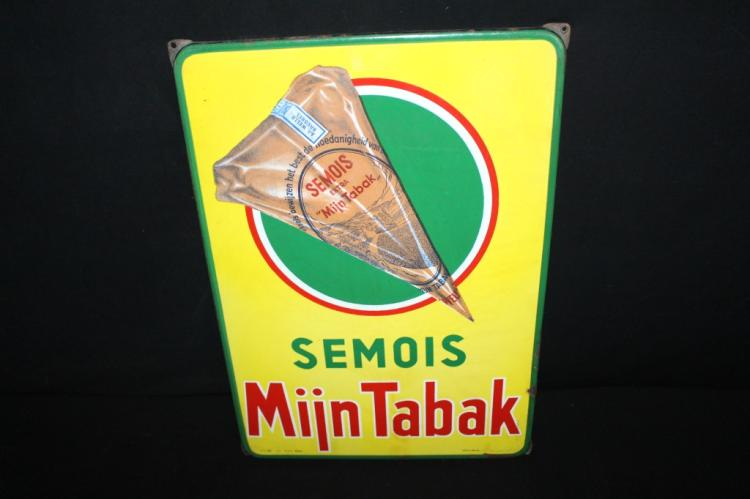 Porcelain Semois Tobacco Sign