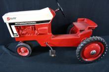 International Harvester Farmall 1066 Pedal Tractor Restored