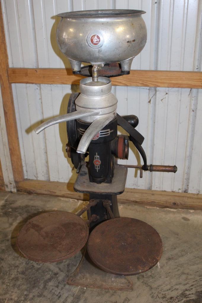 De Laval No 14 Cream Separator w/ Power Drive