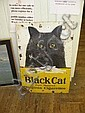 Black Cat Advertising Sign