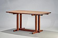 Frenchman's Cove II Dining Table w/leaves by George Nakashima, 1983