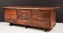 Rare Triple Chest of Drawers by George Nakashima, 1964