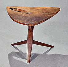 Conoid End Table by George Nakashima, 1974