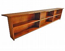 Unique, Custom Designed, Monumental Bookcase by George Nakashima, 1966