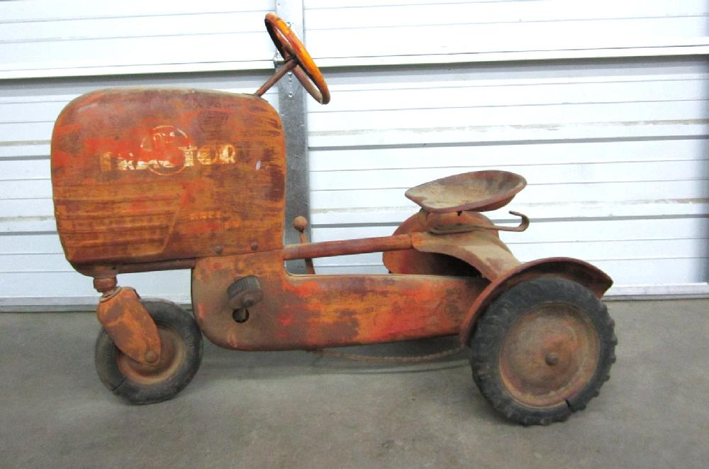 Vintage BMC Heavy Duty Pedal Tractor - Pedal Car