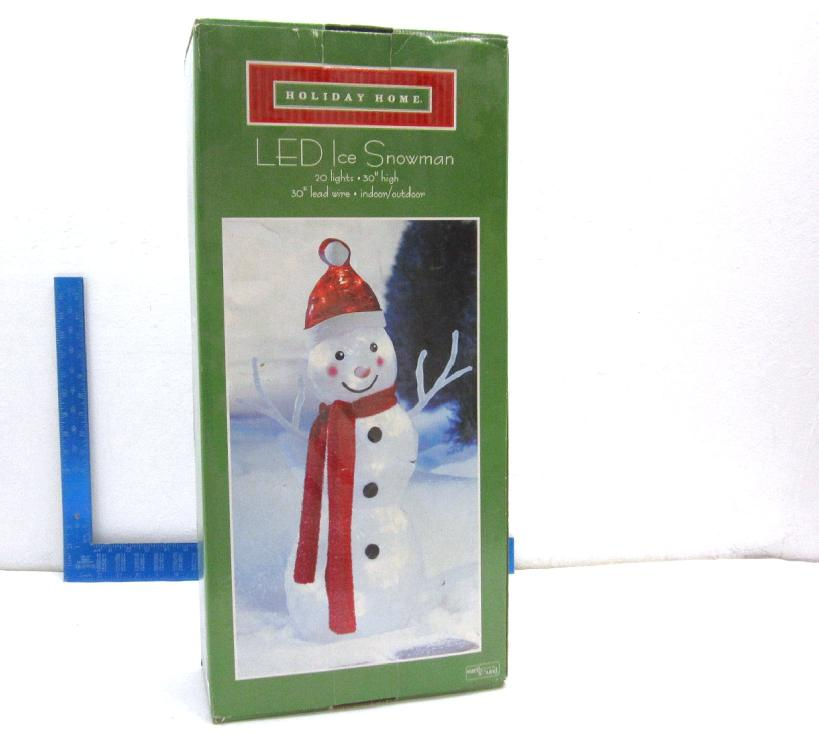 LED Ice Snowman in Box