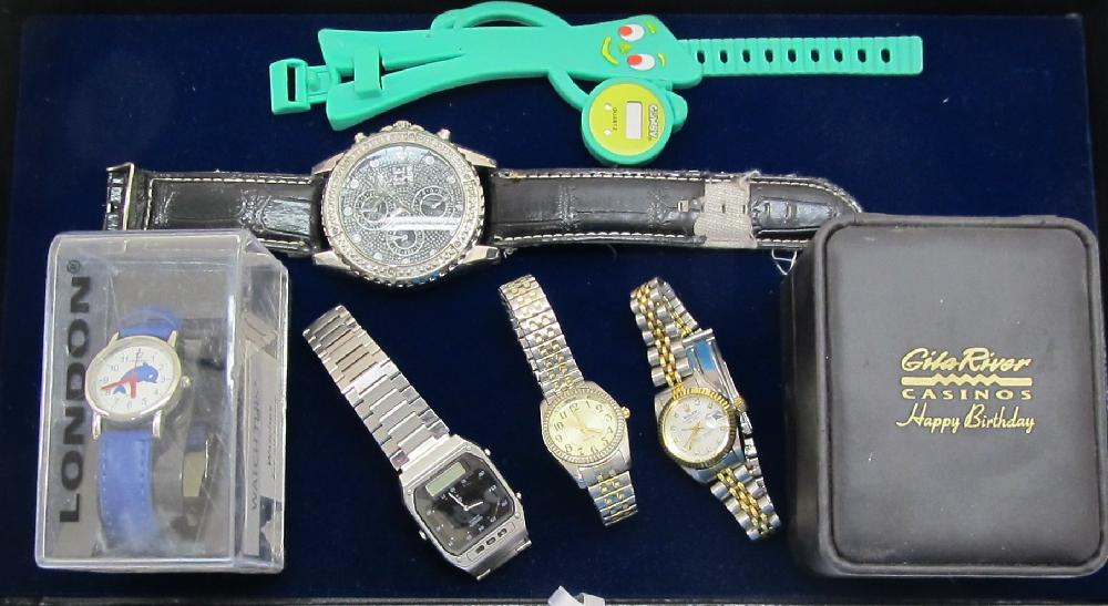 Watches: Gumby, Seiko, London, Ice Nation,