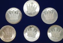 Pasadena Centennial 1847-1974 Commemorative Silver Medal Set in Original Box