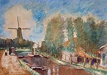 Landscape in the Netherlands, 1913