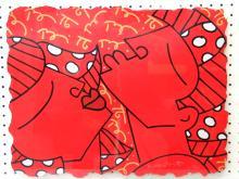 Passion, Serigraph on Paper, by Romero Britto.