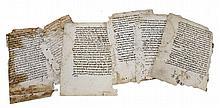 Six Page Manuscript, Radak's commentary on Tehillim,15th/16th Century