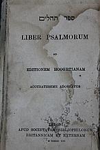 Psalms Book London 1844