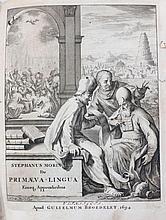 The book STEPHANO MORINO printed in Utrecht, Holland 1694. Rare.