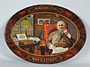 Savarona Cigar Oval Self-framed Tin Sign.